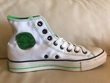 f977e4062e61 Converse Chuck Taylor All Star Ct High White Green Black M 10 W 12 (108857f