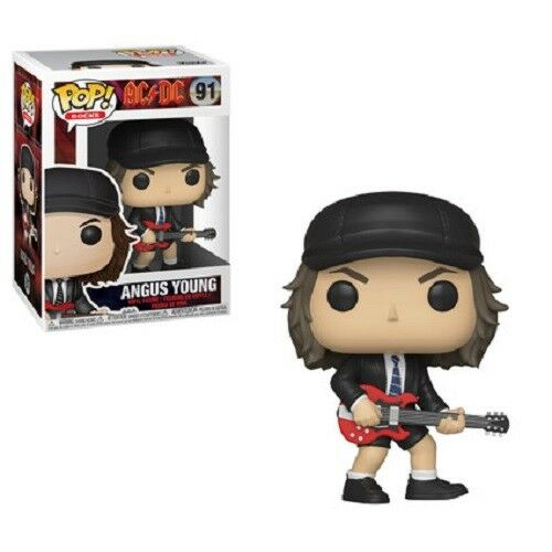MUSIC ROCKS AC/DC Figurine ANGUS YOUNG N° 91