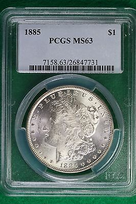1885 PCGS MS64 Morgan Silver Dollar #KP