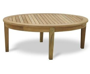 Details About Aria Teak Coffee Table Oval Wooden Garden Patio Outdoor 12 X 08 X 075m Jati