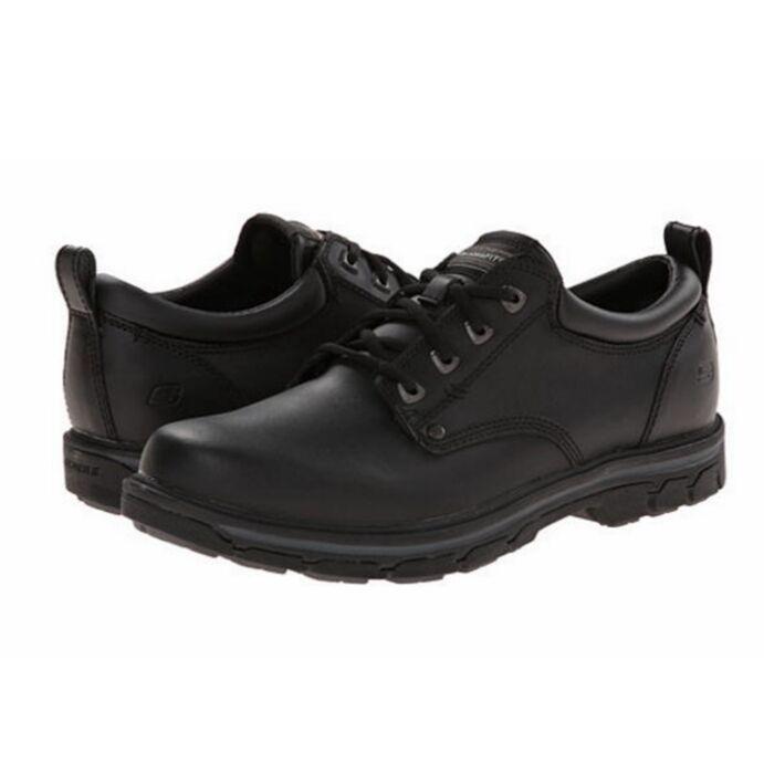 SKECHERS Segment Segment Rilar Oxford Men's shoes  Color: Black  64260