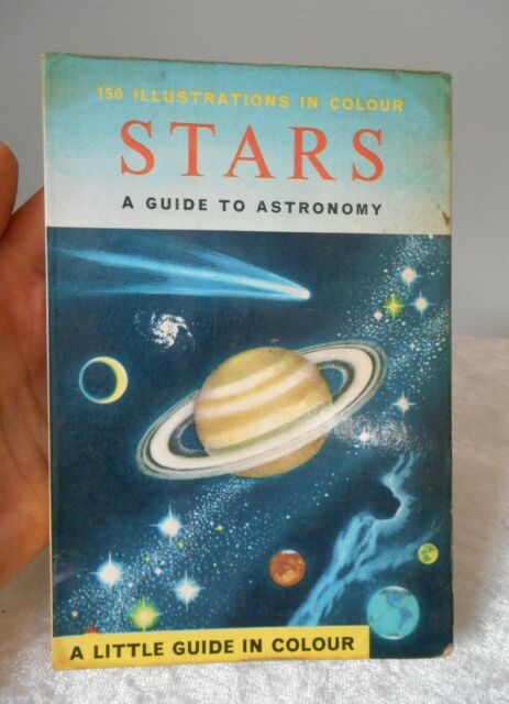 Vintage 1967 STARS A GUIDE TO ASTRONOMY LITTLE GUIDE BOOK IN COLOUR HERBERT ZIM