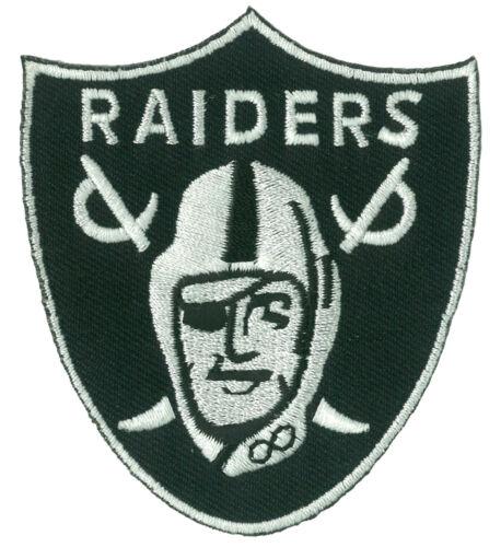 Patche écusson RAIDERS L.A. thermocollant applique patch football brodé