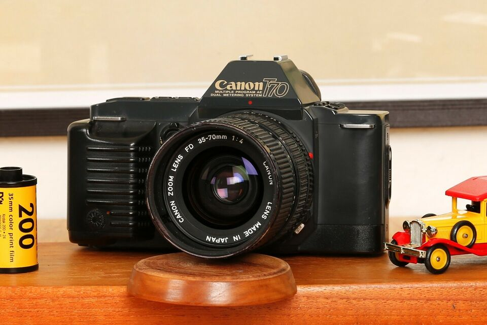 Canon, T70, spejlrefleks