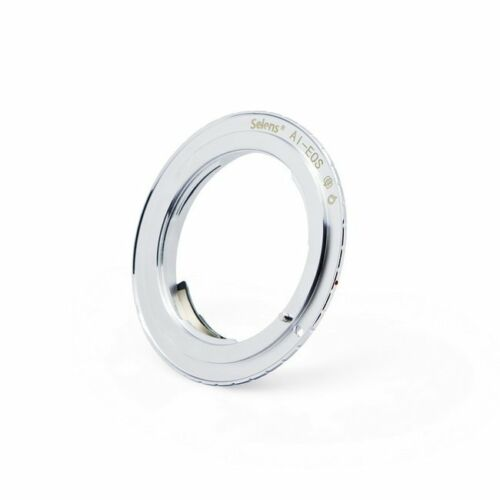 Meking Lens Adapter Ring AI-EOS for Nikon AI//D//AIS//F Mount to Canon EOS  EF NEW