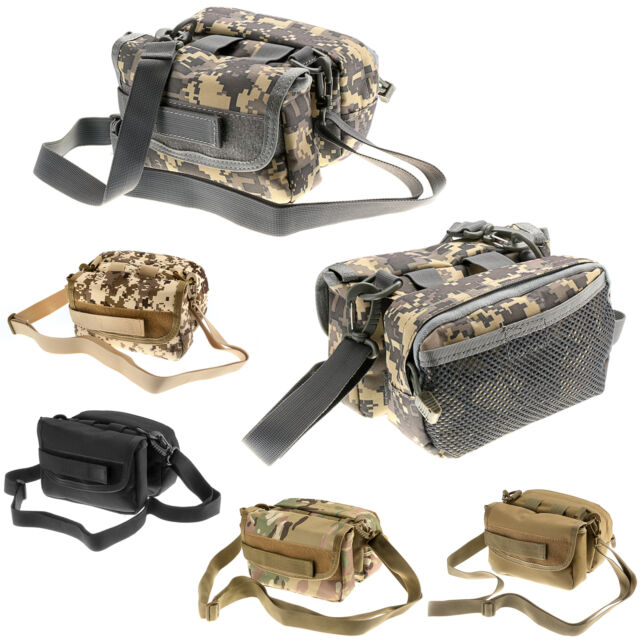 Tactical Military Outdoor Cycling Bicycle Bike Frame Front Tube Double Sides Bag