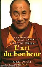 """Livre Bouddhisme """" L'Art du Bonheur - Le Dalaï-Lama """" ( No 48 ) Book"""