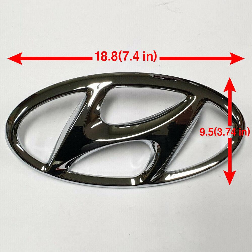 HYUNDAI Genuine 86312-2M100 Emblem