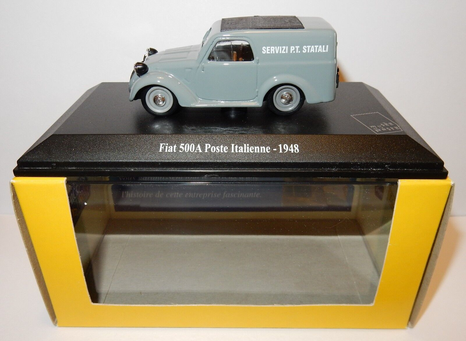 Seltene universal hobbys fiat 500 ein italienne 1948 postes post ptt - 1   43 luxe box