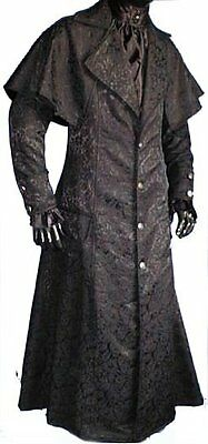 Kutscher Mantel Marquiese Gothic Steampunk New Romantic Vampir S M L XL XXL