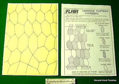German WW1 lozenge pattern template /& details 1//6th