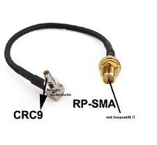 RP-SMA auf CRC-9 Adapter CRC9 HUAWEI E160,E169,E176 usw schneller Versand NEU