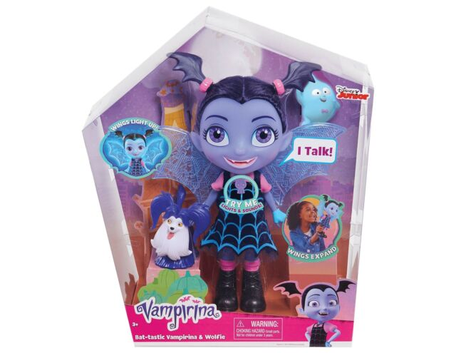 Giochi e giocattoli JP Vampirina Bat Tastic Talking Vee And Friends Figure