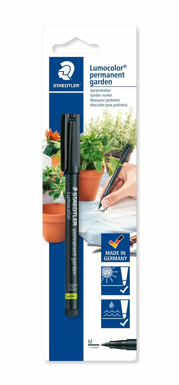 Staedtler Lumocolor Gartenmarker Garden schwarz günstig kaufen   eBay