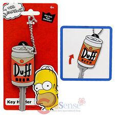Simpson Family Homer Duff Beer Key Cap Key Holder Silicone Rubber Key Holder