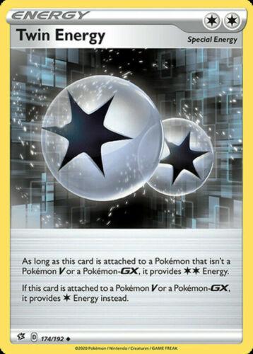 Twin Energy 174//192 Special Energy Card Near Mint Pokemon Rebel Clash