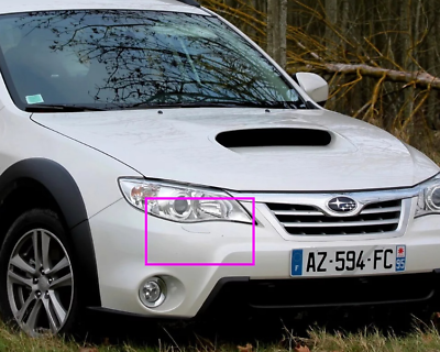 2007-2011 Headlight washer LID Subaru Impreza III XV