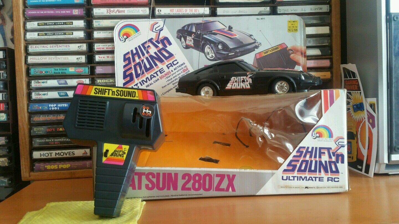 Vintage LJN  Shift N Sound  1981 Datsun z, taken apart and repairosso, works.