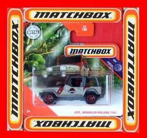 MATCHBOX-2020-JEEP-WRANGLER-ROLLBAR-18-72-100-NEU-amp-OVP