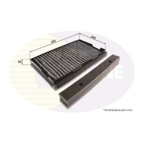 Fits Saab 9-5 YS3E Genuine Comline Activated Carbon Cabin Pollen Filter