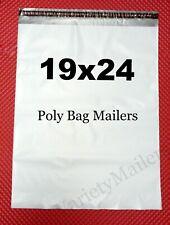20 Large Poly Bag Mailers 19x24 Big Self Sealing Shipping Envelope Bags