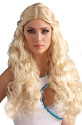 Blonde Greek Goddess Venus Costume Wig