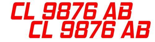 BOAT REGISTRATION HULL ID NUMBER CUSTOM DECAL STICKERS PWC JET SKI