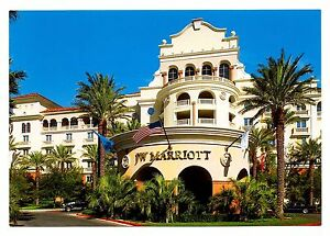 j w marriott hotel casino resort postcard las vegas nevada new