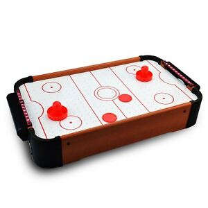 Kids-Table-Top-Mini-Air-Hockey-Paddle-Pushers-Pucks-Toy-Family-Game-Xmas-Gift