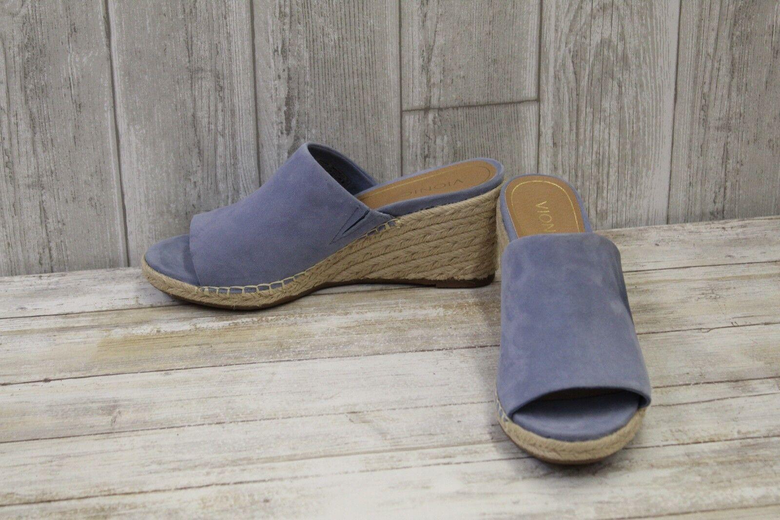 41e123c0f6e0 Vionic Kadyn Wedge Sandal - Women s Size 10 Blue for sale online