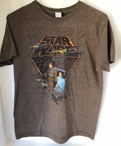 2c169e715d9 Star Wars T-Shirt - Classic Luke Princess Leia Darth Vader Size Med ...