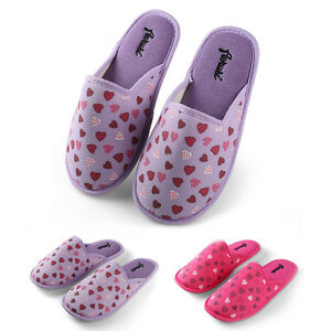 Women Bedroom Slippers Mellie Plush Thong Home Flipflop Indoor ...