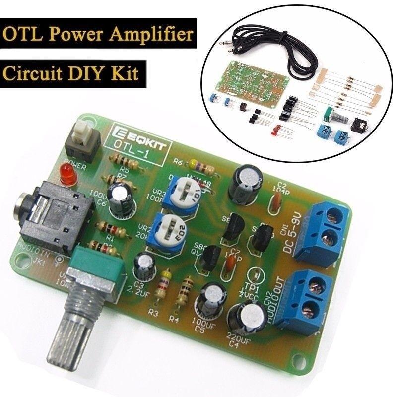 Details about DC 4V-9V OTL Power Amplifier Circuit DIY Kit Discrete  Component Amplifier Suite