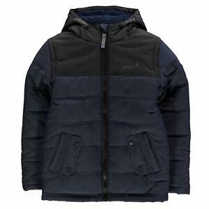 Gelert-Bambini-Ragazzi-Quest-Giacca-Junior-Inalatore-Cappotto-Top-manica-lunga-resistente-all-039