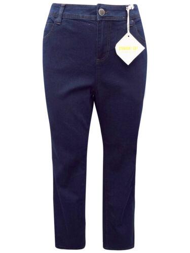 Evans Ladies Womans DENIM Straight Fit Denim Jeans 14 16 18 24 28 32 long leg
