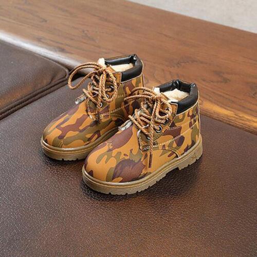 Children Kid Baby Boy Girl Children Casual Winter Warm Martin Sneaker Boots Shoe
