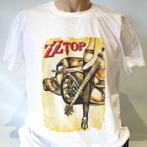 metal rock t-shirt unisex ZZ TOP lynyrd skynyrd deep purple ac dc S-3XL