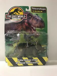 Jurassic Park TLW JP44 Triceratops TRIKE Site B w/ Capture Gear