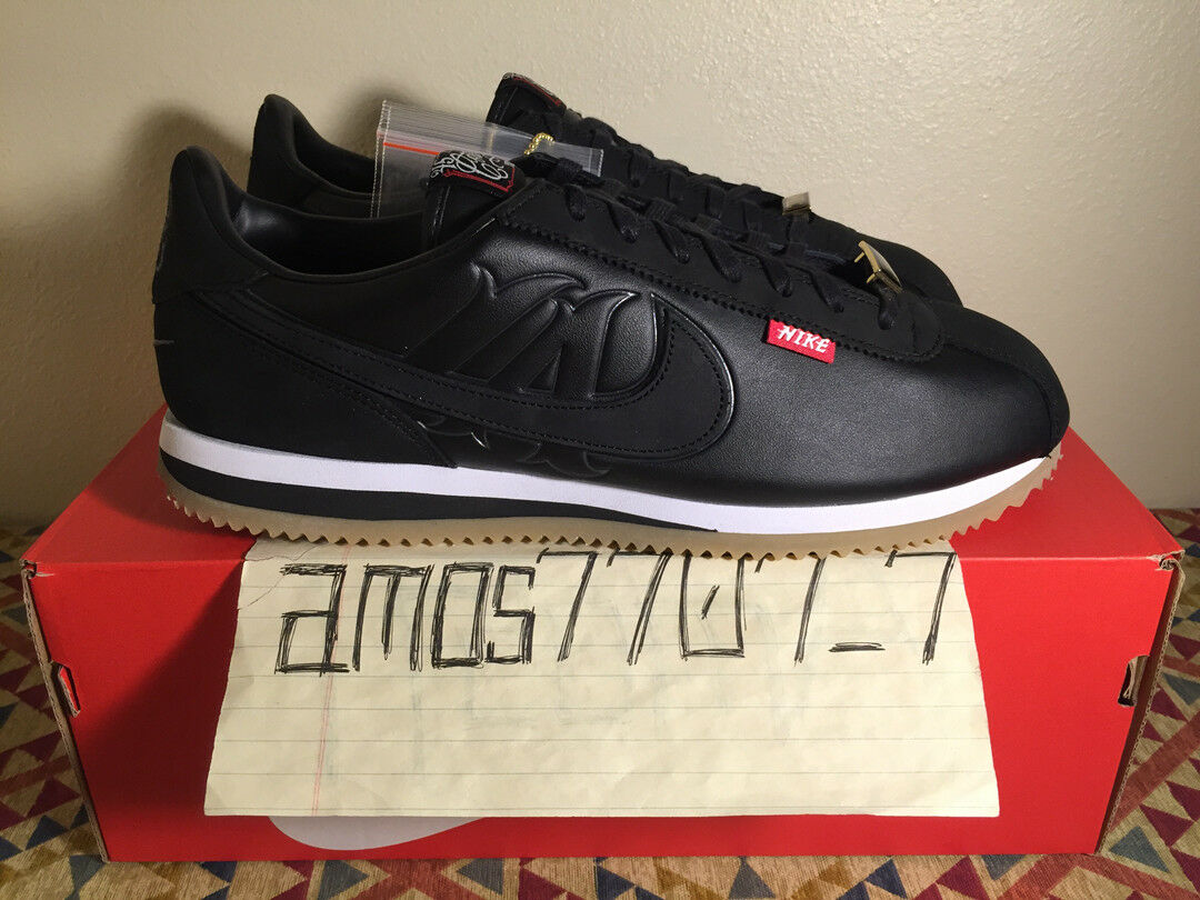 Nike Cortez Basic MC Mister Mr Cartoon LA Black AA4875 001 Men's DS Comfortable The most popular shoes for men and women