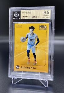 2019/20 PANINI HOOPS #12 JA MORANT ARRIVING NOW BGS 9.5 TRUE GEM 💎 MINT