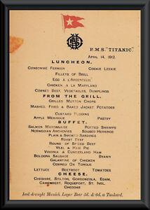 Titanic-Last-Menu-White-Star-Line-Reprint-On-Original-Period-1912-Paper-P010