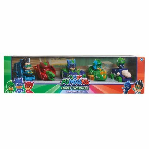 Romeo Night Ninja PJ Masks Dino Trouble Mini Véhicule Set catboy Gekko Owlette