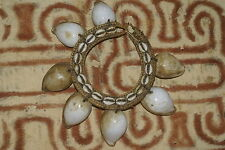 Old Luba Initiation Albino Cowrie Shell Jai Adornment Flores Ngada Tribal Art