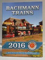 BACHMANN WILLIAMS 2016 TRAIN CATALOG n ho on30 o g scale trains accessories NEW