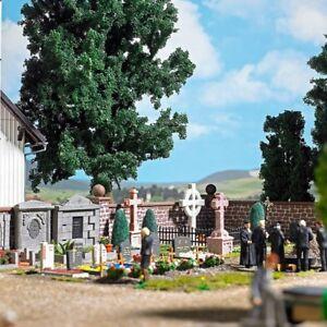 Friedhof Kreuze Busch 1096-1//87 H0 Drei Steinkreuze Neu
