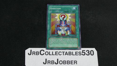 Yu-Gi-Oh QUESTION DR1-EN053 SUPER X1