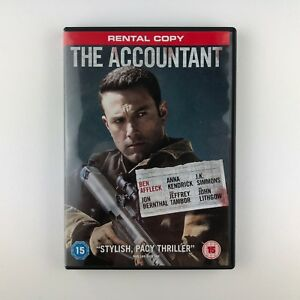 The Accountant (DVD, 2017) r