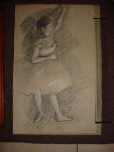 3 Pochoirs Danseuses d'après DEGAS Edgard - France - Type: Estampe, Gravure Authenticité: Reproduction Origine: France - France
