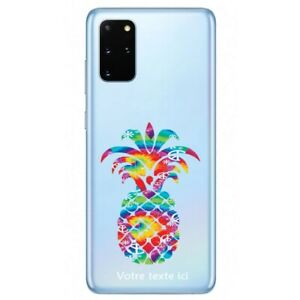 Coque Galaxy Note 10 LITE ananas tie and dye 3 personnalisee