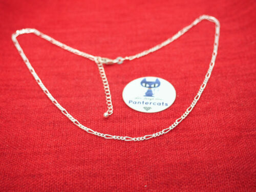Exclusive Figaro Kette aus 925 Sterling Silber 42 5 cm Limitiert Vintage Rooky